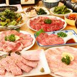 和牛処 Hana - コース料理でございます。