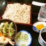 東家 - Bセット(もりそば+ミニ天丼)