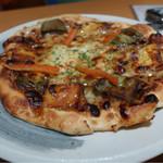 池田屋 はなの舞 - 生湯葉と生麩のピザ・580円