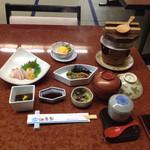 浜幸家 - 料理写真:さざえ釜飯定食