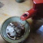一栄 - 自然体の蕎麦湯