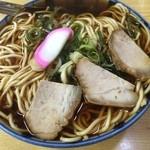 丸デブ - 料理写真:中華そば400円