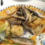 ナポリスタカ - 小魚と野菜のフリット