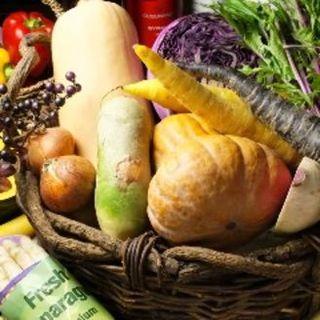 山屋の人気メニューの野菜達