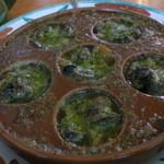 サイゼリヤ - エスカルゴのオーブン焼き(¥399)