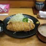 わたり - ロースかつ定食 1450円