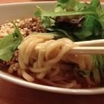 32794082 - 汁なし担々麺(太麺)