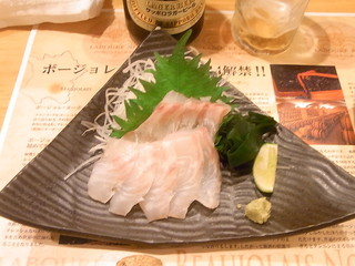 居酒屋まんま - 鯛の刺身¥780☆♪