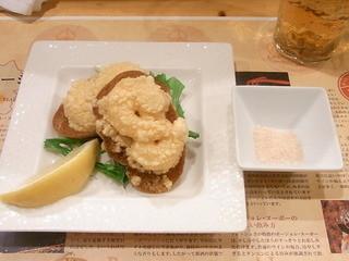 居酒屋まんま - 海老パン1個¥250×2☆♪