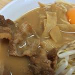 徳島ラーメン 岩田家 - 豚肉とタケノコ(東武池袋店催事)