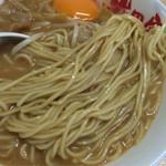 徳島ラーメン 岩田家 - 麺(東武池袋店催事)
