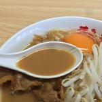 徳島ラーメン 岩田家 - スープ(東武池袋店催事)