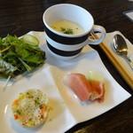Bondi屋 - 前菜+スープ