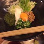創作料理 どんぐり - ネバネバ元気サラダ