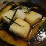 わかみや - 豆腐と茄子の揚げだし