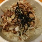 味噌番長 - ミニネギチャー丼