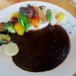 ライバック - 野菜ゴロゴロカレー 800円