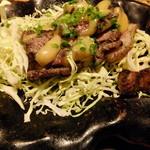 あばら大根 - 豚カルビ黒焼き