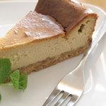 Abete - ランチセットのドルチェ=チーズケーキ