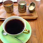 城下カフェ - 城下コーヒー コク 450円