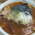 ラーメン華門 - スープカレーラーメン(760円+50円)