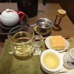 天福茗茶 - セットはこうなっています