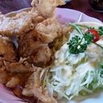 大八寿司 - 温泉トラフグの唐揚げ