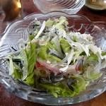 大八寿司 - フグ皮のサラダ
