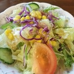 びすとろ 風露 - 料理写真:オムライス自慢のお店【びすとろ風露】サラダ♪