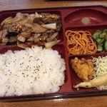 中国料理 西海 - 茄子味噌炒め定食