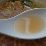 拉麺・食工房 まる家 - 土佐ジローを使ったスープ