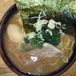 32804079 - ラーメン+味付け半熟玉子(2013年11月)