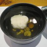 日本料理 戸たに - 蓮根真蒸