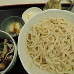 栄屋うどん店 - 肉汁うどん550円