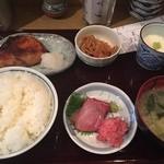 和久良 - ランチ(ぶり照り焼き)