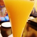 K's Bar - 柿のフルーツカクテル