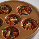 ムール貝のオーブン焼き エスカルゴ風