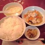 32808680 - 豚生姜焼き定食のセット
