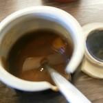 32810733 - 調味料の一つ「にんにく醤油」です。