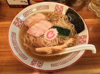 串あげ ムタヒロ 4号店 - 「夜鳴き煮干中華そば」750円(23時からの提供)