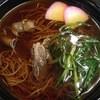 そば処 藪庵 - 料理写真:肉そば