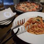 ニコリ キッチン - パスタ&ピザスペシャルランチセット