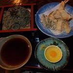 土蔵食亭 - 天ざる御膳