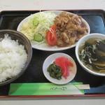 彩鳳 - 生姜焼き定食