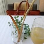 リストランテ・ホンダ - グリッシーニ チーズ風味 カレー風味 ゴマ風味