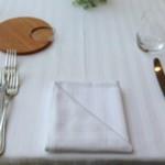 リストランテ・ホンダ - テーブルセッティング