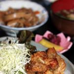 あじわい処 あかぎ - 鶏の唐揚げ定食