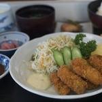 はましん - 料理写真:カキフライ定食