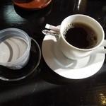 まごころ庵 - レディースセットのごまプリンとコーヒー