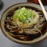 美栄庵 - てんぷらそば 330円2014/11